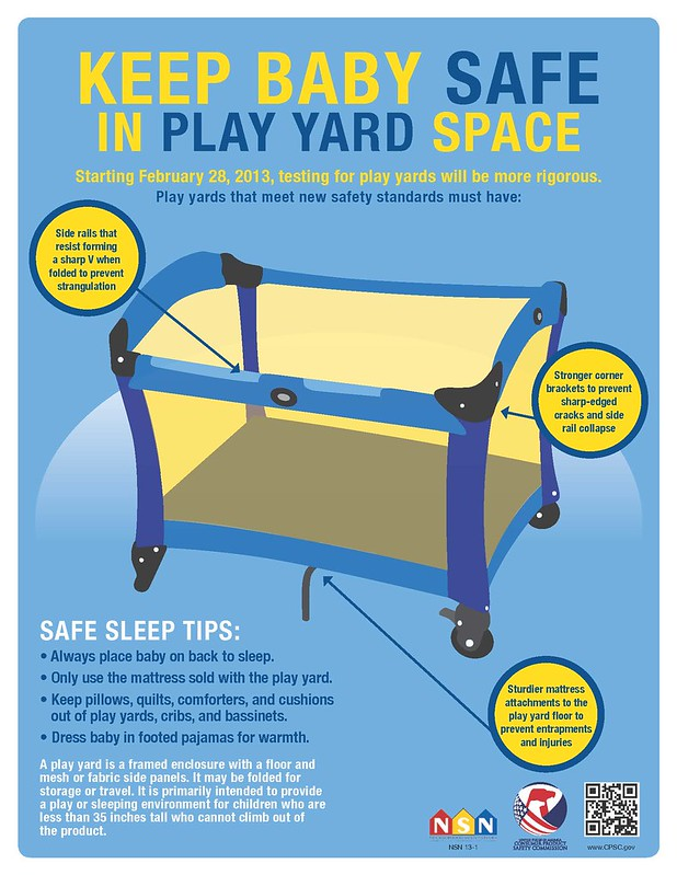 Keep Your Baby Safe in a Play Yard