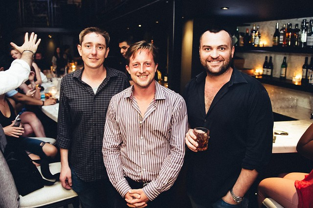 Vieux Carre Bar Manager Jeff Coles - Ashton Moore - and Creative Director Seth McClelland by Joy Asico