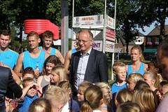 GKV Ons Clubje (2016) - Clinic Nederlands Korfbalteam - Burgemeester Onno van Veldhuizen