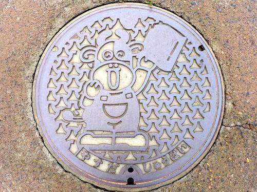 Yasuda Nigata, manhole cover (新潟県安田町のマンホール)