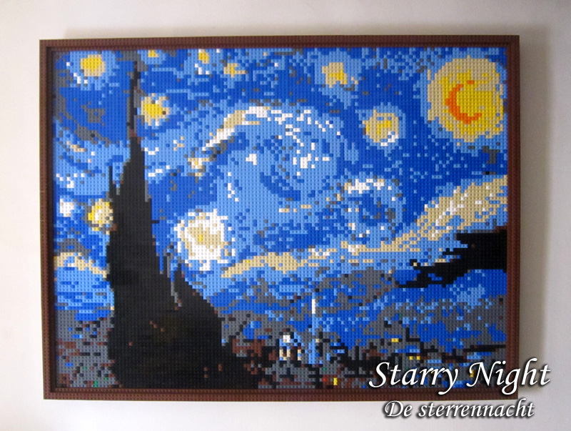 Lego starry night | real france
