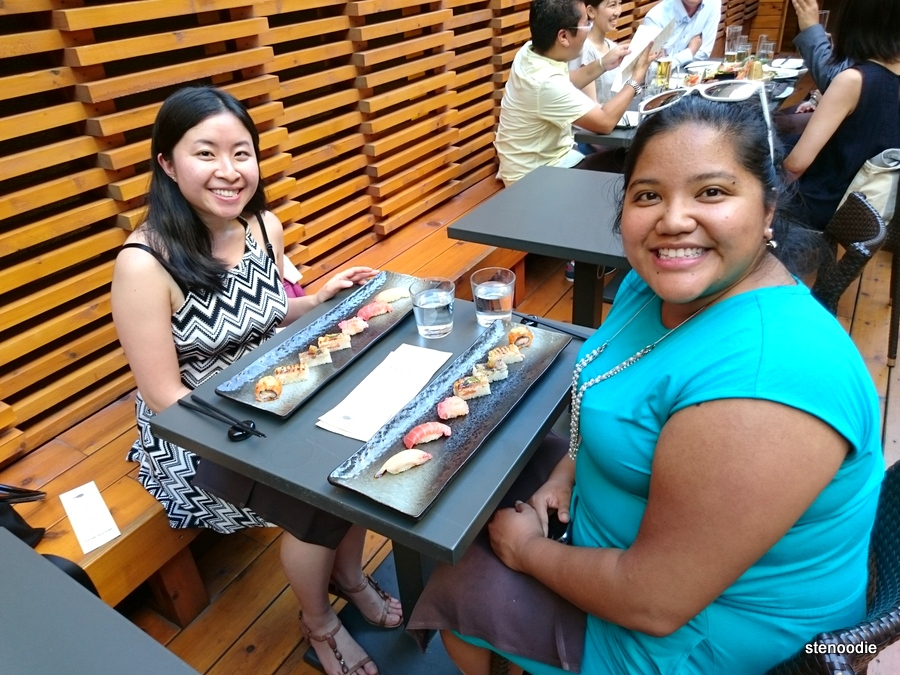 Dining at JaBistro's new renovated rooftop patio