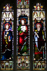 St Matthew flanked by St Peter and St Paul (WH Constable, 1884)