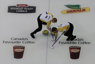 Edmonton Ab.Mar4,2013.Tim Hortons Brier.Manitoba .CCA/michael burns photo | by seasonofchampions
