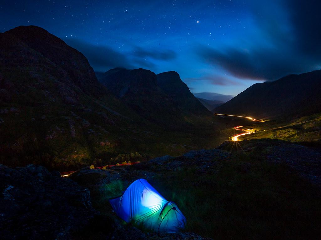 Walk Report - Beinn A'Chrulaiste, Wild camp + Glencoe Miky ...