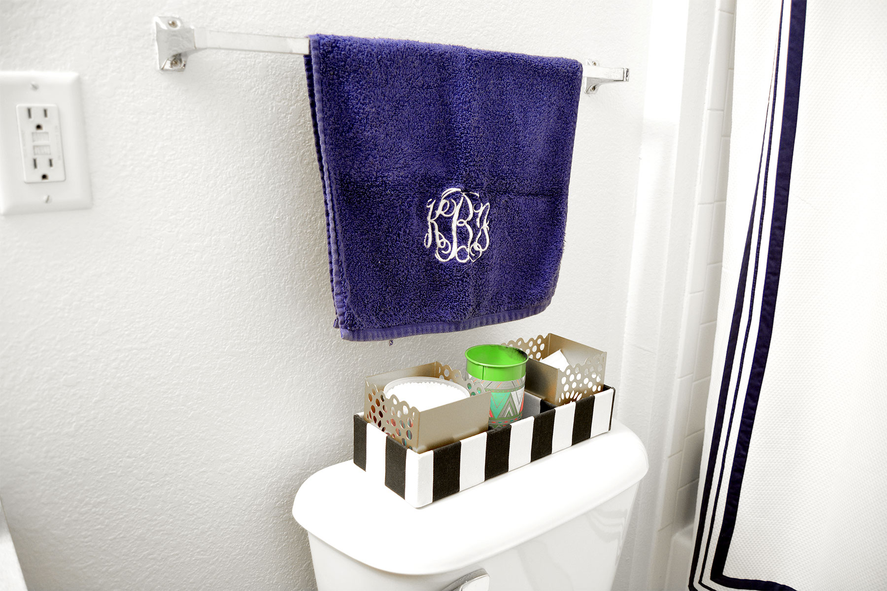 How to Upscale a Rental Bathroom