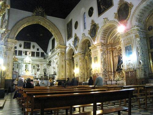 Granada iglesia de santa ana interior flickr photo - Abella granada ...