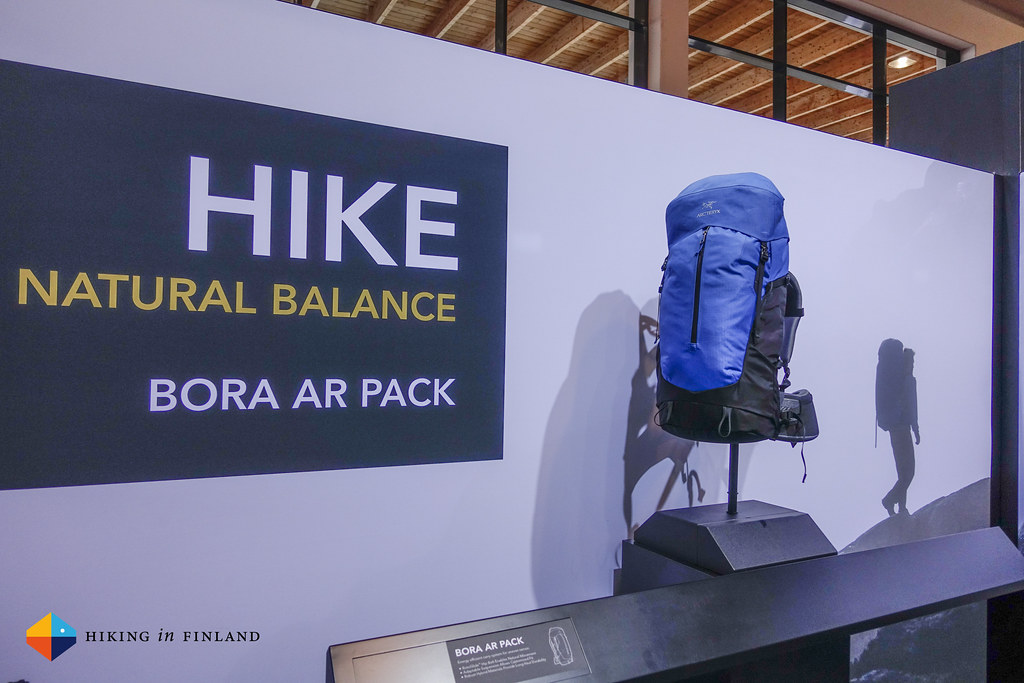 HIKE with the Arc'teryx Bora AR Pack