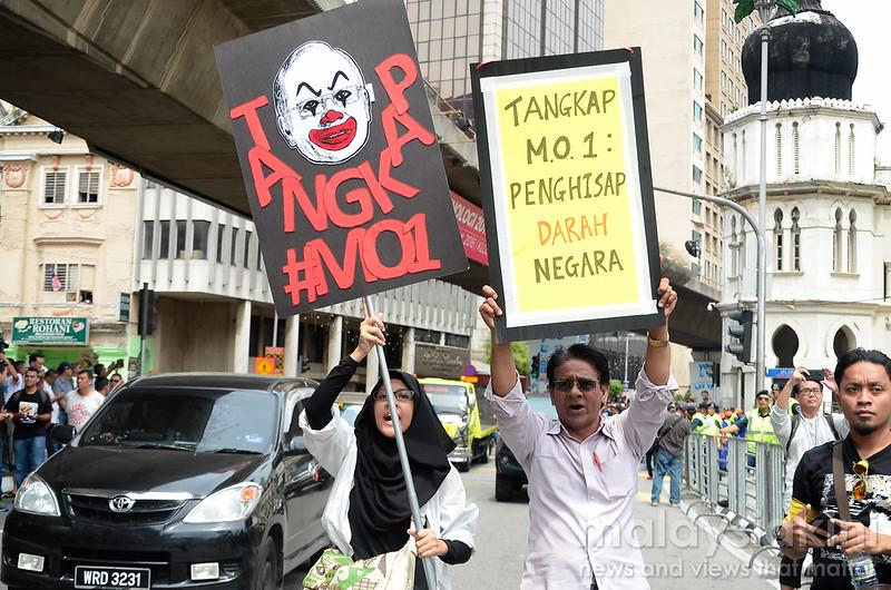 #TangkapMO1 Rally