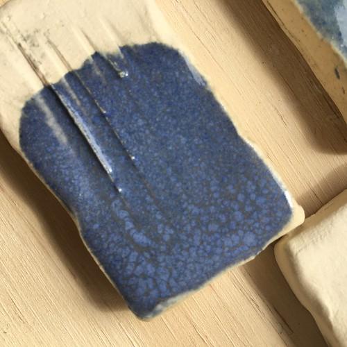 glaze test tiles