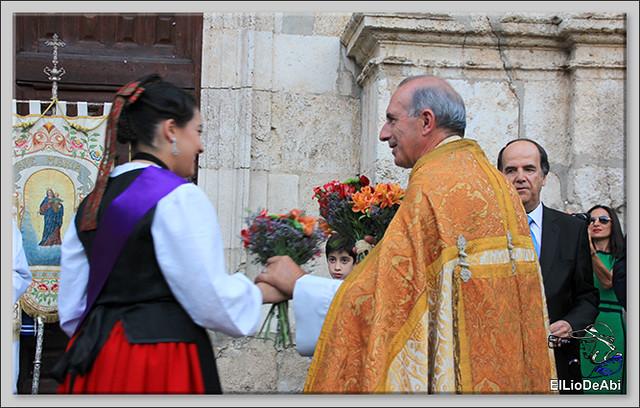 Briviesca Fiestas 2016 Procesión del Rosario y canto popular de la Salve  (14)