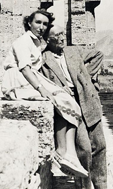 Андре Жид с Изабеллой