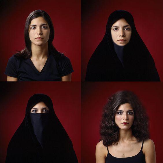 Boushra AlMutawakel,《The Hijab Series》,2001 (1)