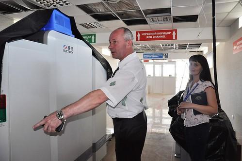Щоб пасажирам в аеропорту наголовуне капало