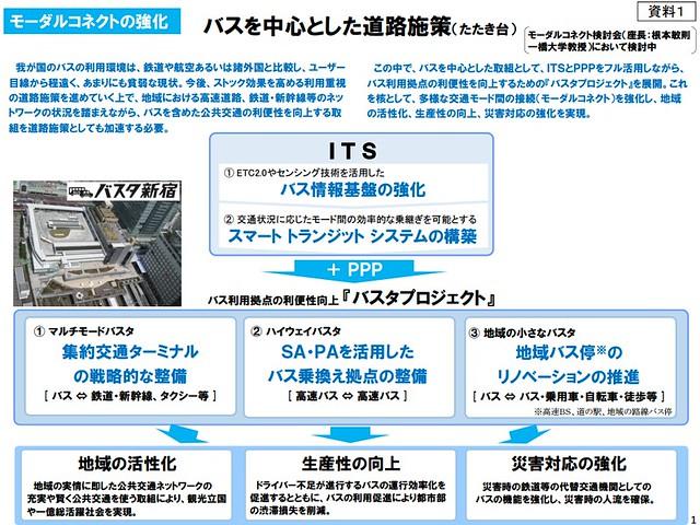バスタ新宿に味を占めた国交省がバスタプロジェクト展開の構想 (1)