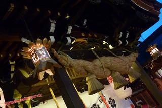 P1060791 Templo Kushida en festival (Fukuoka) 14-07-2010