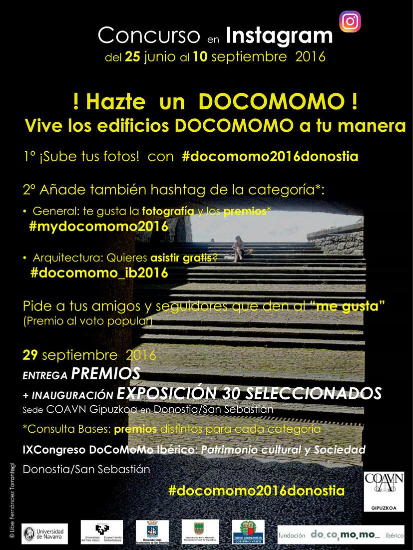 bases hazteundocomomo_congreso_san sebastian_concurso fotografia_patrimonio