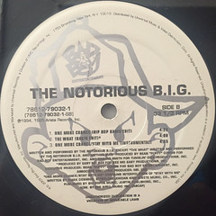 THE NOTRIOUS B.I.G.:ONE MORE CHANCE(LABEL SIDE-B)