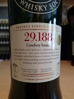 SMWS 29.188 - Cowboy beans