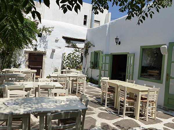 jolie terrasse blanche