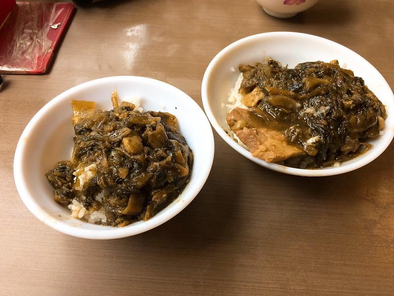 梅干菜販&魯肉飯