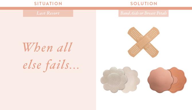 breast petals nipple cover band aids