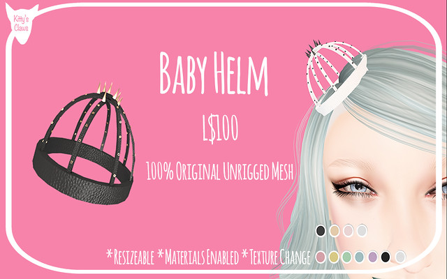 Kitty's Claws: Baby Helm