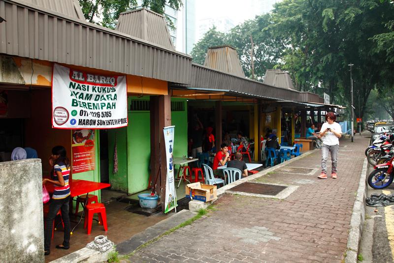 Damansara Kim Hawker Stalls