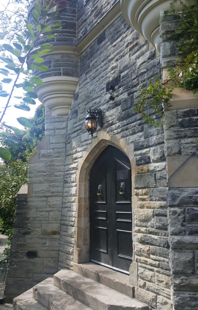 Casa Loma door