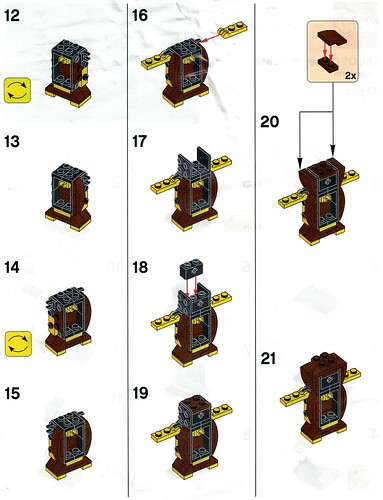 LEGO Disney Princess Toys R Us Cogsworth Building Instructions - The ...