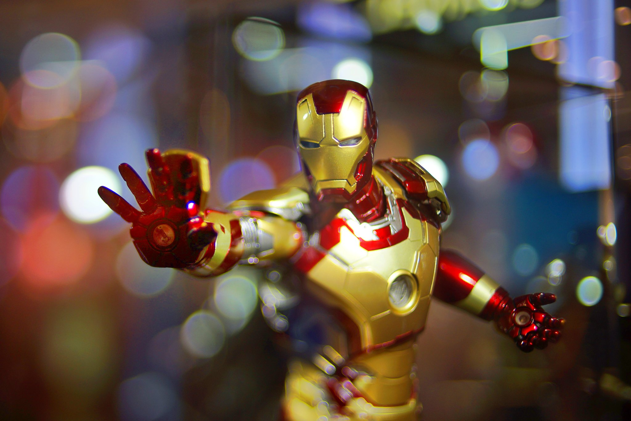 Iron Man in Bokehistan