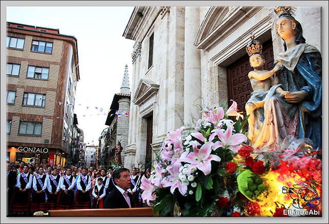 Briviesca Fiestas 2016 Procesión del Rosario y canto popular de la Salve  (16)