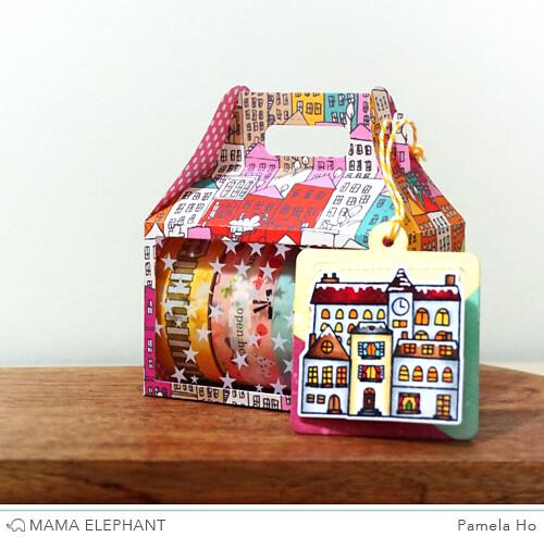 Mama Elephant - Gable Box 1