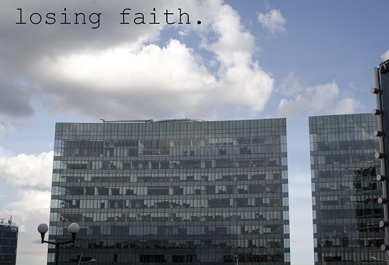 Wisdom #7 Losing Faith