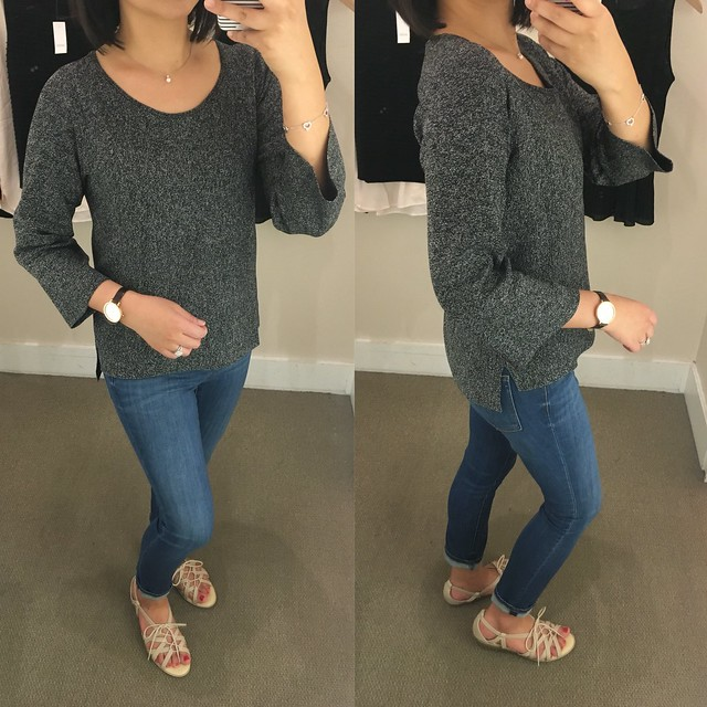 LOFT Speckled Sweater, size XS regular