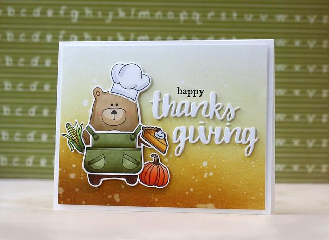 STAMPtember®-Hero Arts-Happy Thanksgiving