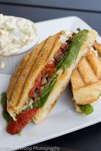 Portabello Panini Sandwich