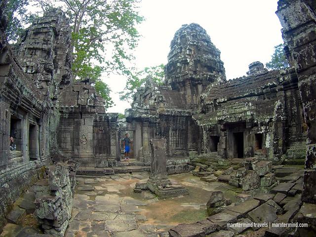 Inside Banteay Kdei Temple Siem Reap