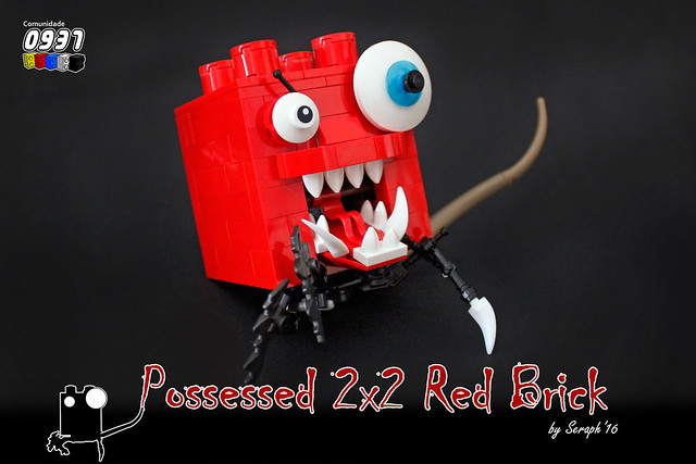 Possessed 2x2 Red Brick
