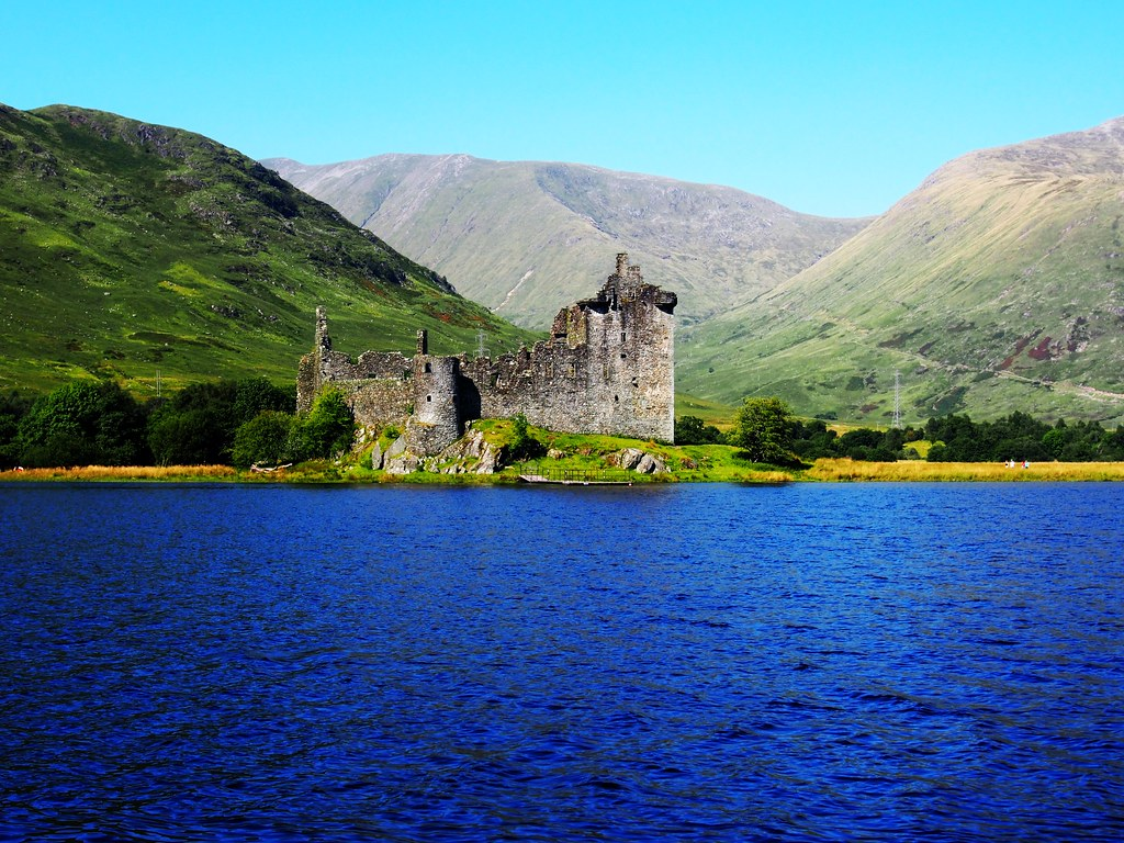 Kilchurn Castle, Loch Awe, Scotland.