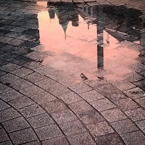 Dublino: tramonto dopo la pioggia