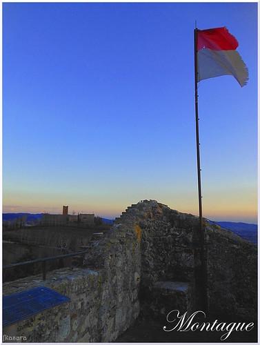View from Romeo Montague's Castle in Montecchio Maggiore