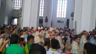 25 07 2016 Jovens da Diocese na JMJ na Polônia