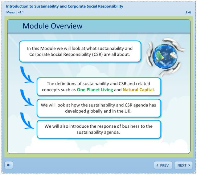 Intro to CSR & Sustainability