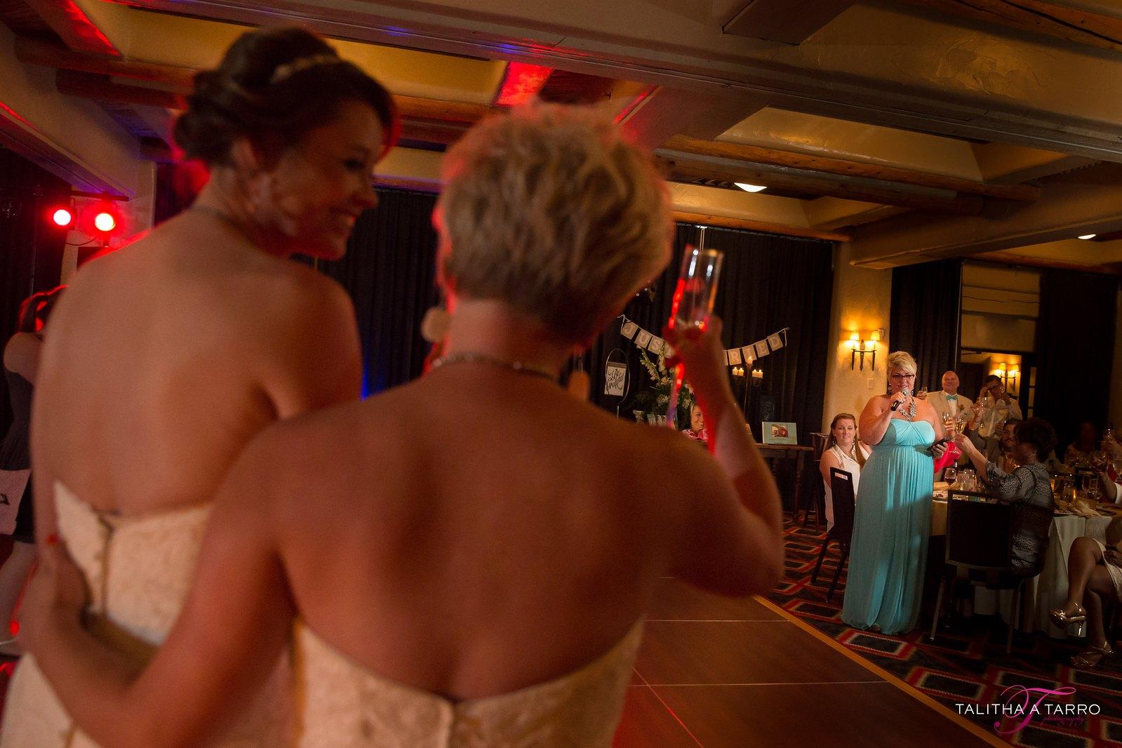 Inn and Spa at Loretto Wedding