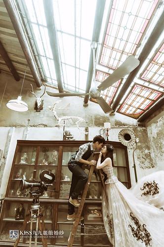 [高雄婚紗推薦]Kiss九九為我和歐爸拍出唯美又韓風的婚紗照 (3)