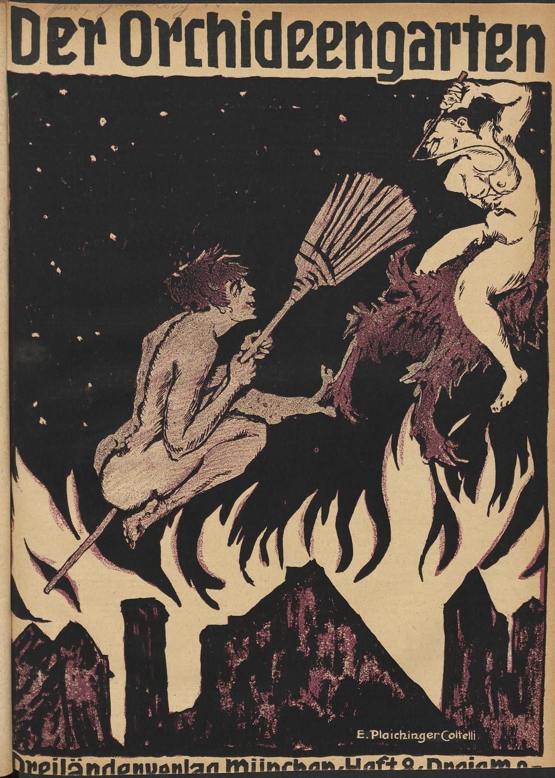Der Orchideengarten - 1920 (Cover 8)
