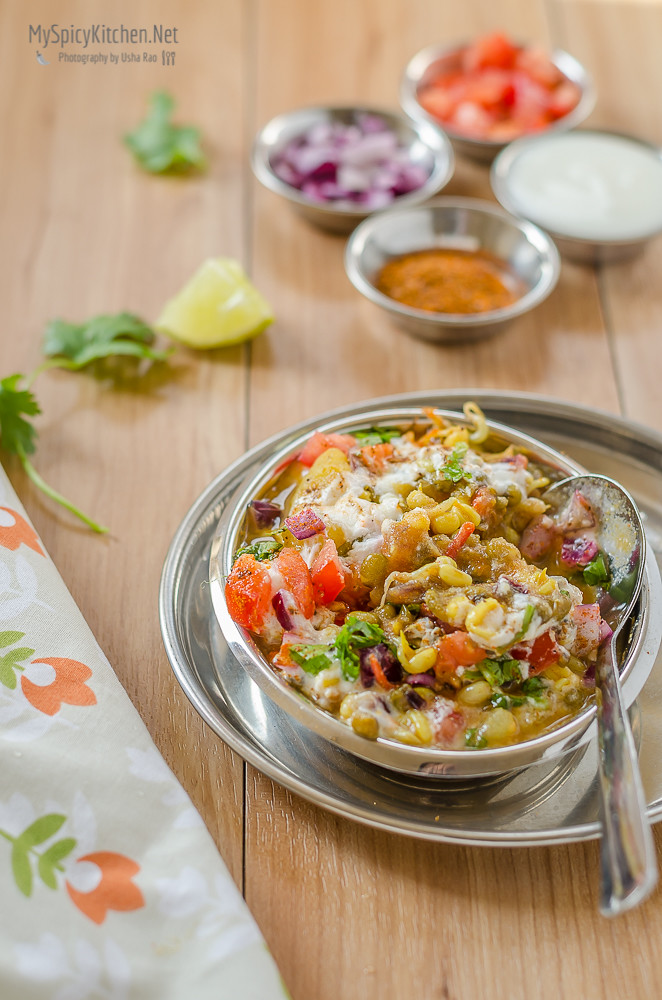 how to make sprouts chaat