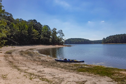 Paddling to Ghost Island in Lake Hartwell-66
