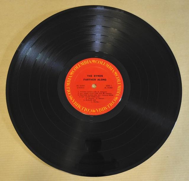 "BYRDS BYRDS FARTHER ALONG original 1st pressing usa 12"" LP VINYL"